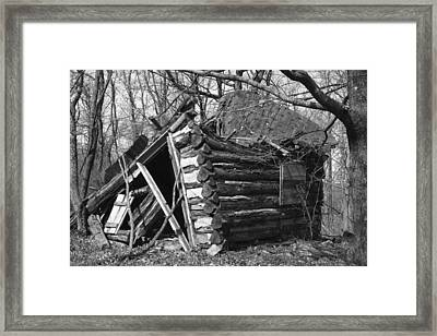 Winslowcabinhorizontal Framed Print by Curtis J Neeley Jr