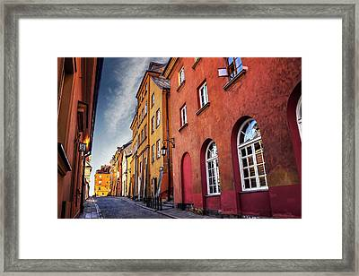 Winsome Warsaw  Framed Print