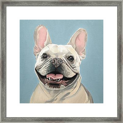 Winston Framed Print by Nathan Rhoads