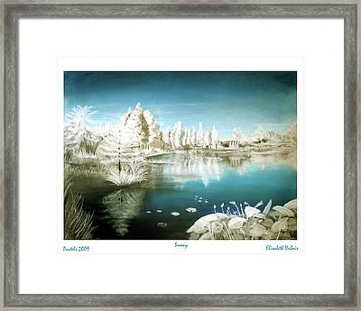 Winter 1 Framed Print by Elisabeth Dubois