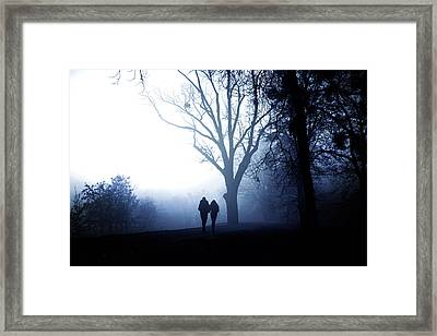 Winter Afternoon II Framed Print by Cambion Art