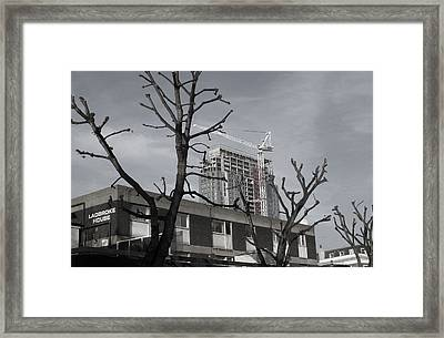 Winter Approaches Framed Print by Jez C Self