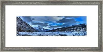 Winter At Medicine Lake Framed Print by Adam Jewell