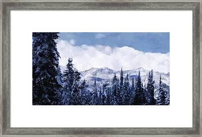 Winter At Revelstoke Framed Print