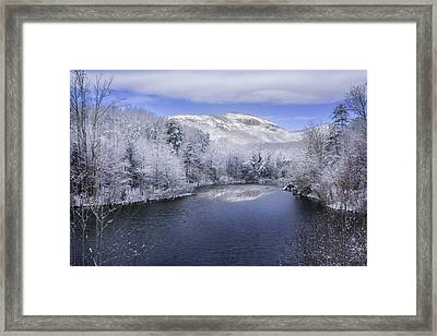 Winter At Table Rock State Park Framed Print by Johan Hakansson