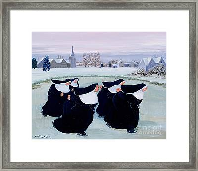 Winter At The Convent Framed Print