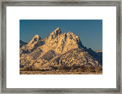 Winter At The Grand Framed Print by Yeates Photography