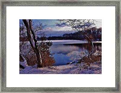 Winter At Twin Lakes Framed Print