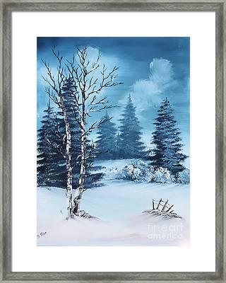 Winter Framed Print by Barbara Teller