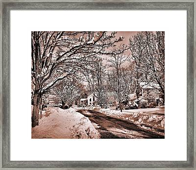 Winter Beauty Framed Print by Mikki Cucuzzo