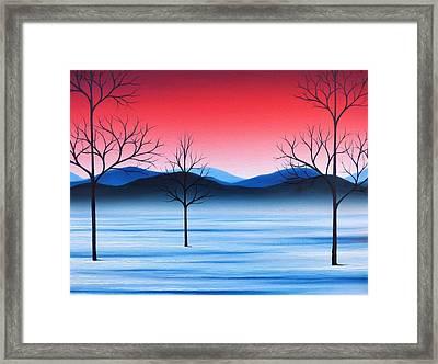 Winter Beckons Framed Print by Rachel Bingaman