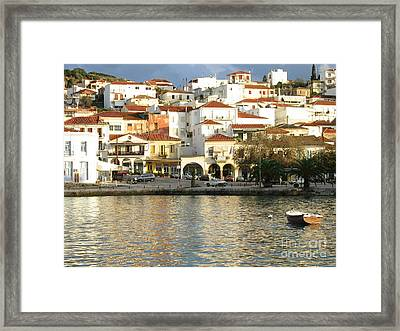 Winter Becomes Pylos  Framed Print by Clay Cofer