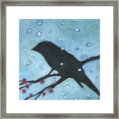 Winter Bird 3 Framed Print by Tim Nyberg