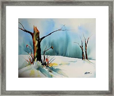 December River Framed Print