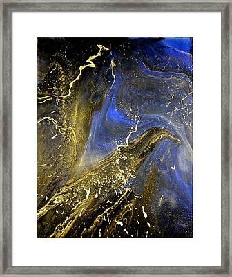 Winter Blue Framed Print by Patrick Mock