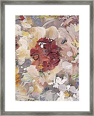 Winter Bouquet Framed Print