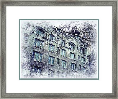 Winter Framed Print by Cathie Tyler