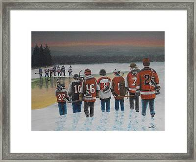 Winter Classic 2012 Framed Print
