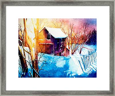 Winter Color Framed Print by Hanne Lore Koehler