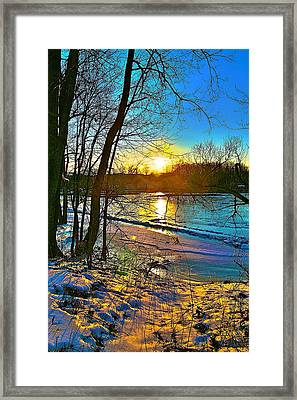 Winter Color Framed Print by Robert Pearson