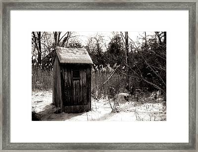 Winter Comfort Framed Print by John Rizzuto