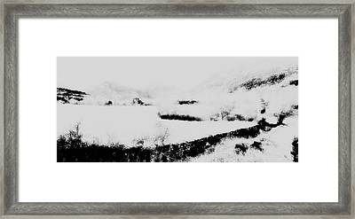 Winter Framed Print by Contemporary Art