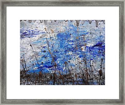 Winter Crisp Framed Print by Jacqueline Athmann