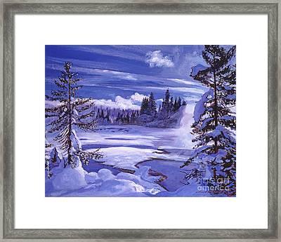 Winter Framed Print by David Lloyd Glover