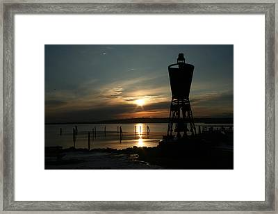 Winter Dawn Framed Print by Doug Mills