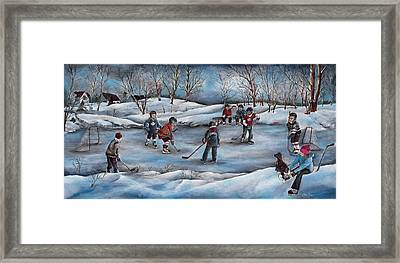 Winter Days Framed Print by Patsy Cormier