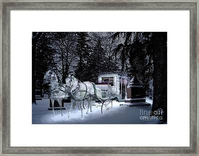 Winter Departure   Framed Print by Tom Straub