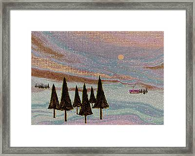 Winter Dream Framed Print by Gordon Beck