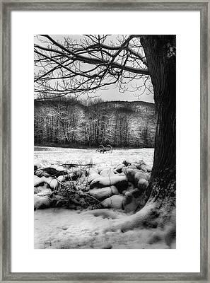 Winter Dreary Framed Print by Bill Wakeley