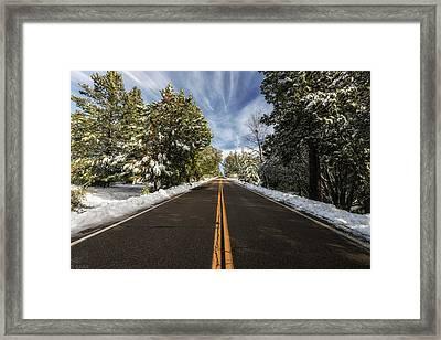 The  Drive Framed Print by Doug Barr