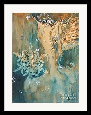 Winter Personified Framed Prints