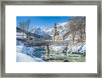 Winter Essentials Framed Print