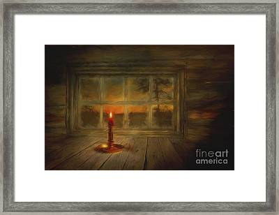 Winter Evening Framed Print by Veikko Suikkanen