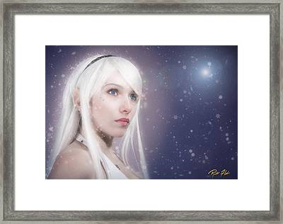 Winter Fae Framed Print by Rikk Flohr