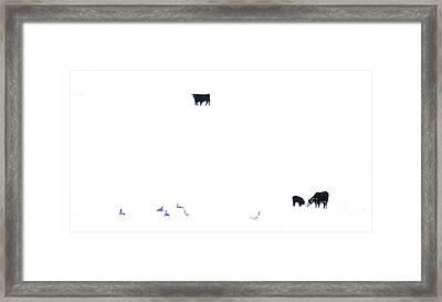 Winter, Feed Zone Framed Print