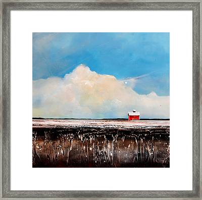 Winter Fields Framed Print by Toni Grote