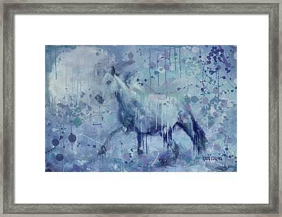 Winter Flurry Framed Print