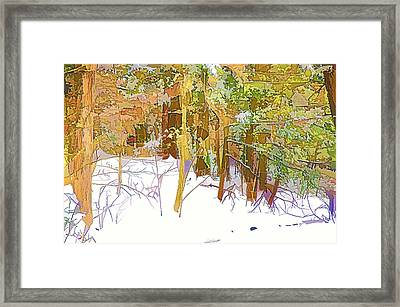 Winter Forest 1 Framed Print by Lanjee Chee