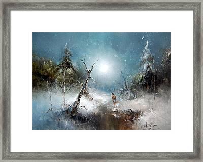 Winter Forest Framed Print by Igor Medvedev