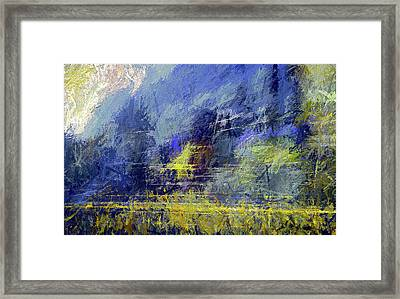 Winter Frosty Morning Framed Print