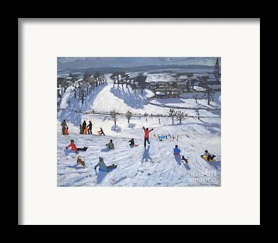 Winter Wonderland Framed Prints