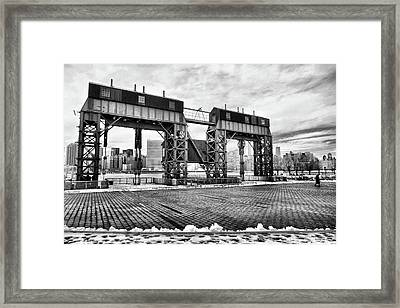 Winter Gantry Framed Print