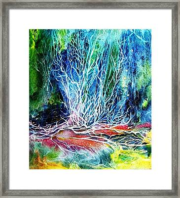 Winter Habitat No.2  Framed Print by Trudi Doyle