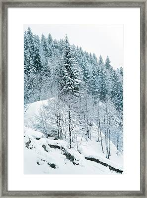 Winter Hill Framed Print