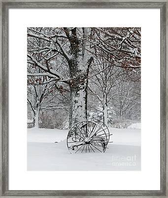 Winter Hush Framed Print by Diane E Berry