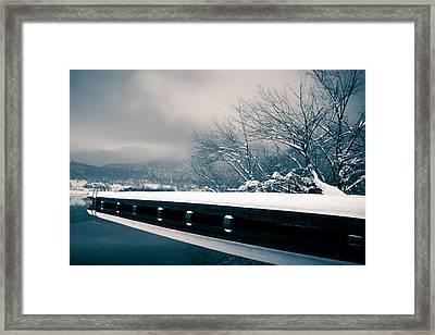 Winter Idyl Framed Print by Luka Matijevec